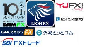 FX業者、証券会社